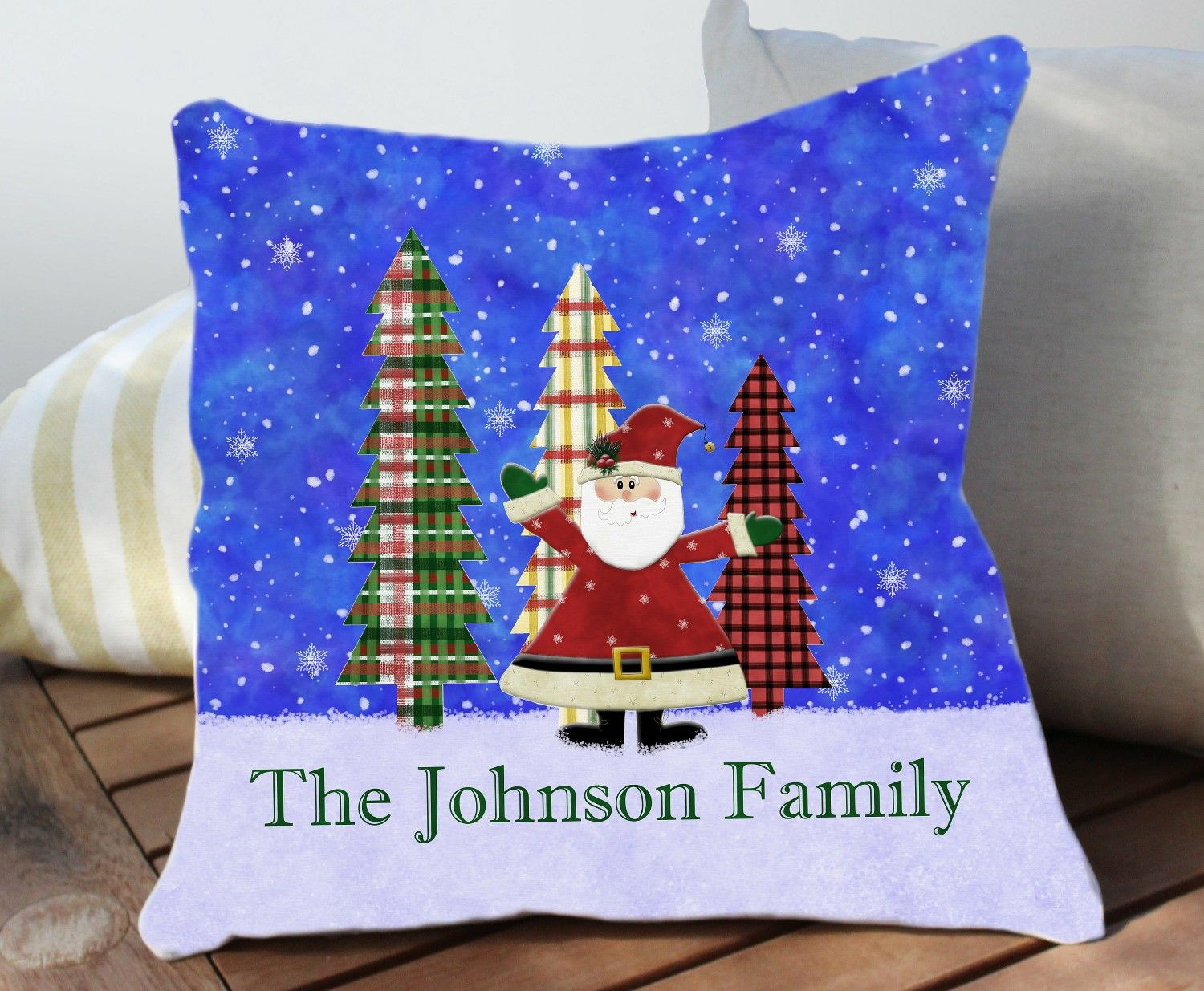 Holiday Pillows Christmas, Outdoor Christmas Pillows, Personalized ...