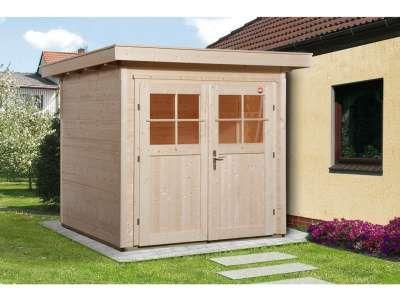 Gartenhaus 170 A Gr. 1 28 mm naturbelassen