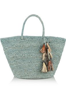 Either Leather Or Other Natural Materials One Of The Guidelines I Use When Choosing A Bag Love Color Straw Used In This