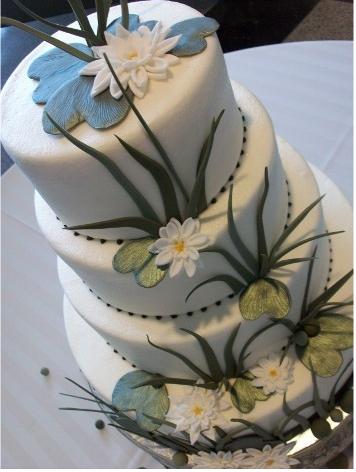 lily pad cake