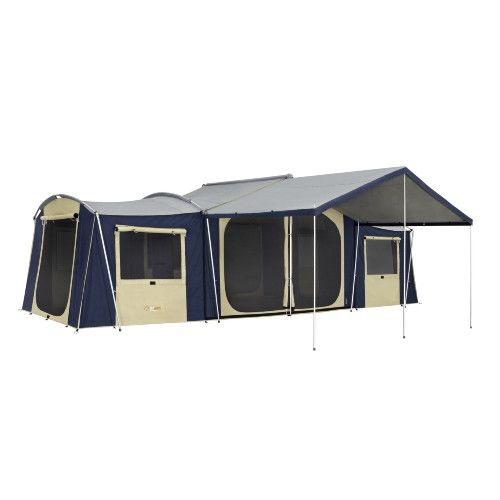 OZtrail Chateau 12 Canvas Cabin Tent