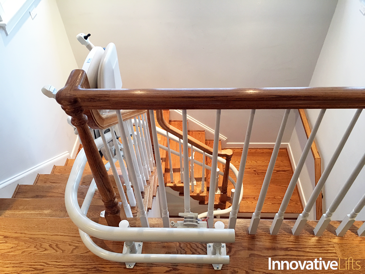 Curved Stairlifts For All Types Of Stairs Innovative Lifts Types Of Stairs Stair Landing Beautiful Room Designs