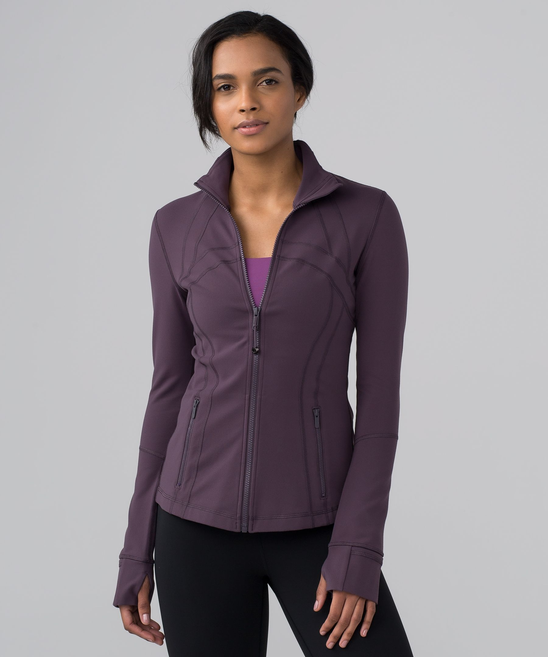 Layer on this warm, lightweight jacket before you hit the