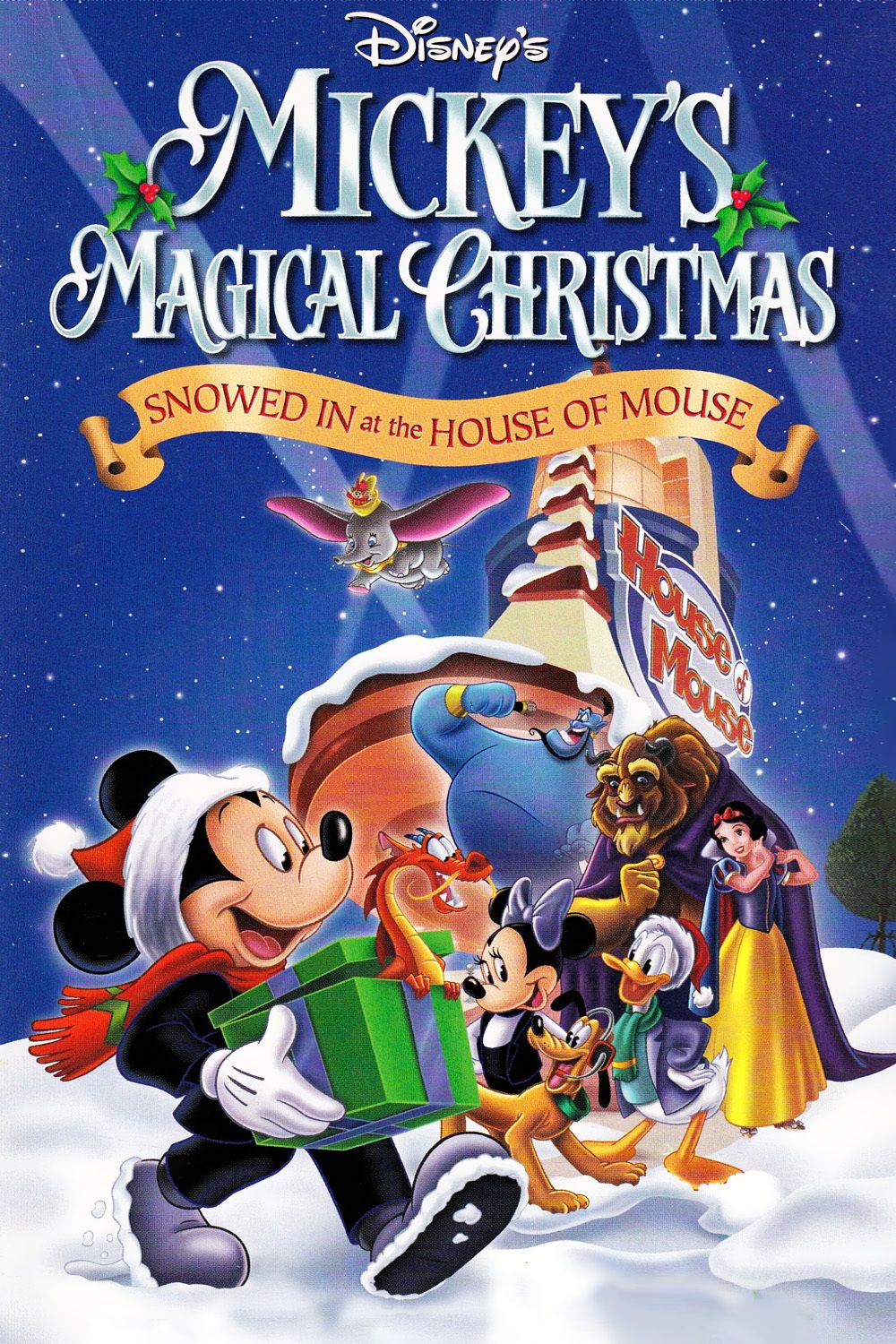 Mickey S Magical Christmas Snowed In At The House Of Mouse Mickey And All His Friends Hold Their Disney Movies By Year Walt Disney Movies Disney Christmas