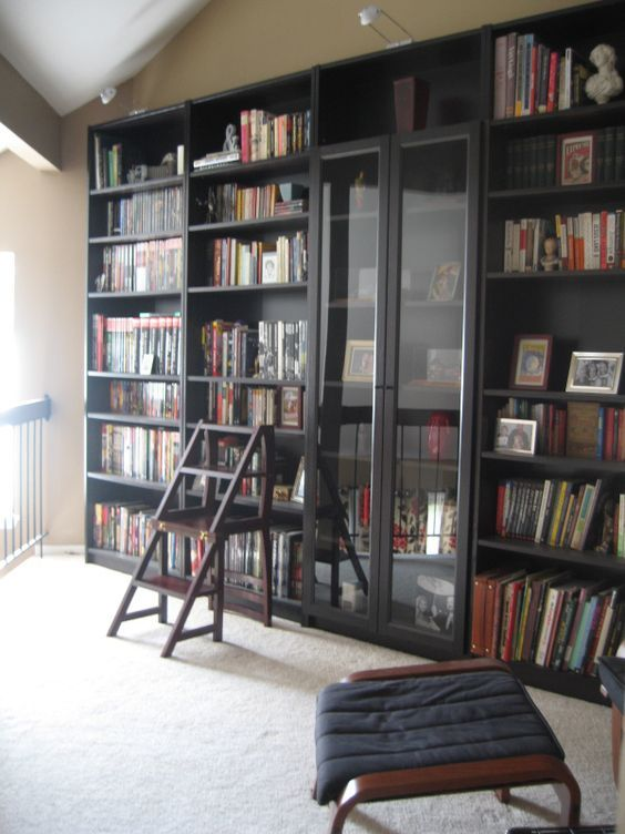 27 Awesome Ikea Billy Bookcases Ideas For Your Home Digsdigs Ikea Bookcase Hemnes Bookcase Ikea Billy Bookcase
