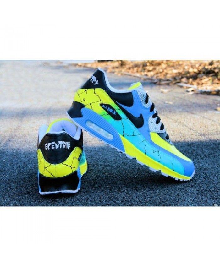 new style 5d72d fabfa Nike Air Max 90 Chameleon Gene Custom Running Shoes UK Shop