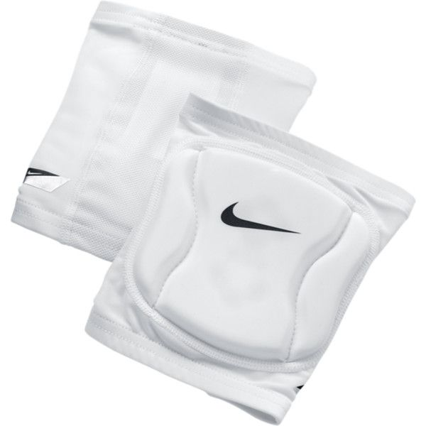 Nike Strike Volleyball Knee Pad White M L 20 Liked On Polyvore Volleyball Knee Pads Knee Pads Volleyball