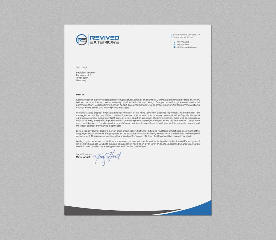 format business letter in 2020 Business letter template