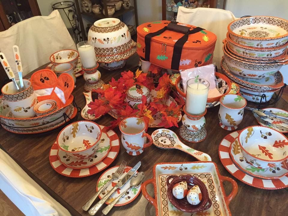 Harvest dinnerware n bakeware. & Temptations. Harvest dinnerware n bakeware.   thanksgiving ...