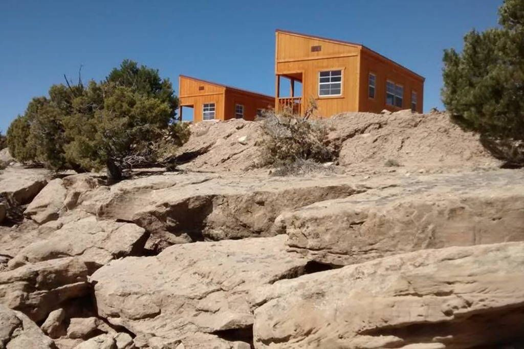 Lakeside cabin off grid starvation cabins for rent in