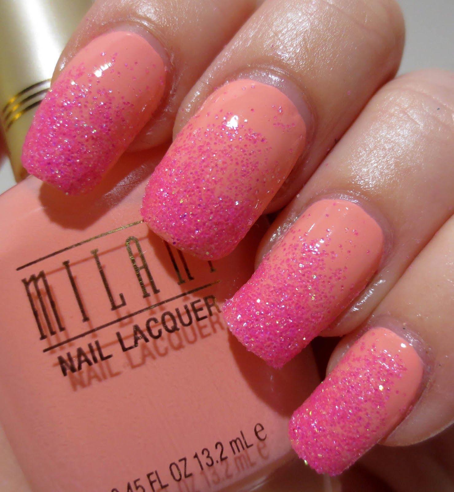 Flip Flop February Gradient Fun nails, Nail polish, Nails
