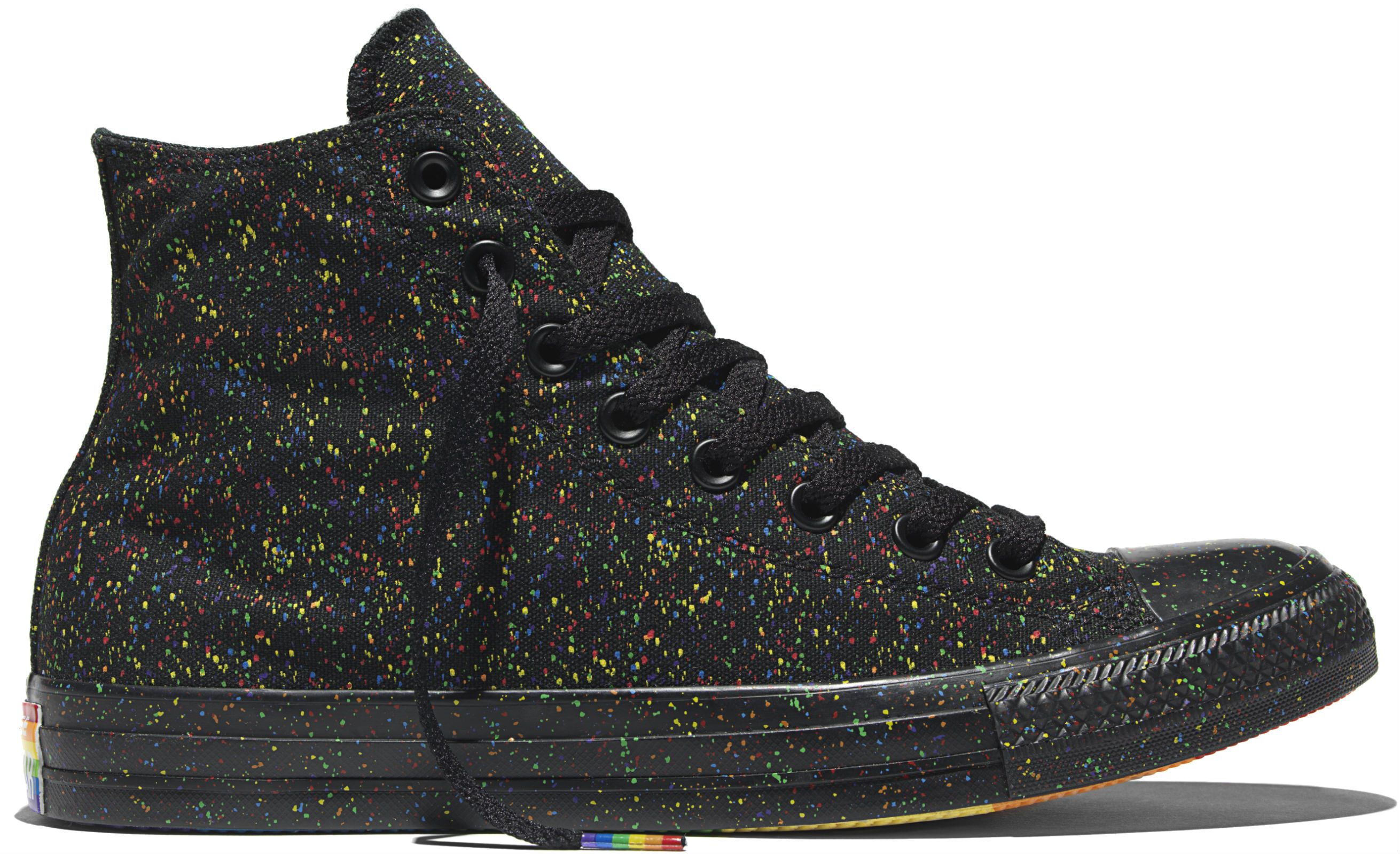 ab2de9d387c4 Converse Just Released Its New Pride Collection of Rainbow Sneakers -  Rackedclockmenumore-arrow