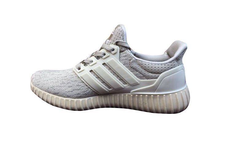 a49906b64 Adidas Women Men Ultra Boost X Yeezy Boost Running Shoes Gold Grey ...
