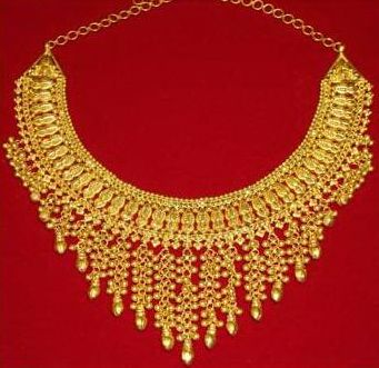 anjali jewellers gold wedding collection. gold choker, nepal, pearl necklaces, jewellery, set, sarees, jewelry, necklace anjali jewellers wedding collection a