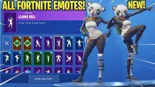 New panda team leader skin showcase with all fortnite dances fortnite in 2019 team leader - Panda team leader costume ...