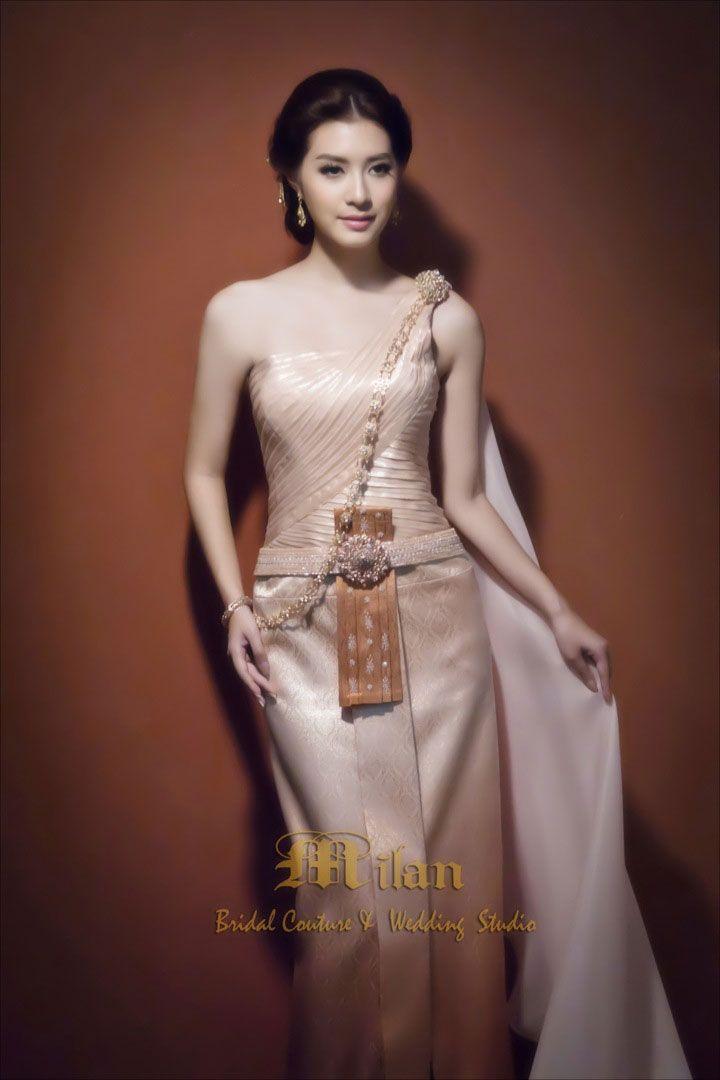 ไทยจักรพรรดิ - ไทยจักรพรรดิประยุกต์ | Thai Traditional Dresses ...
