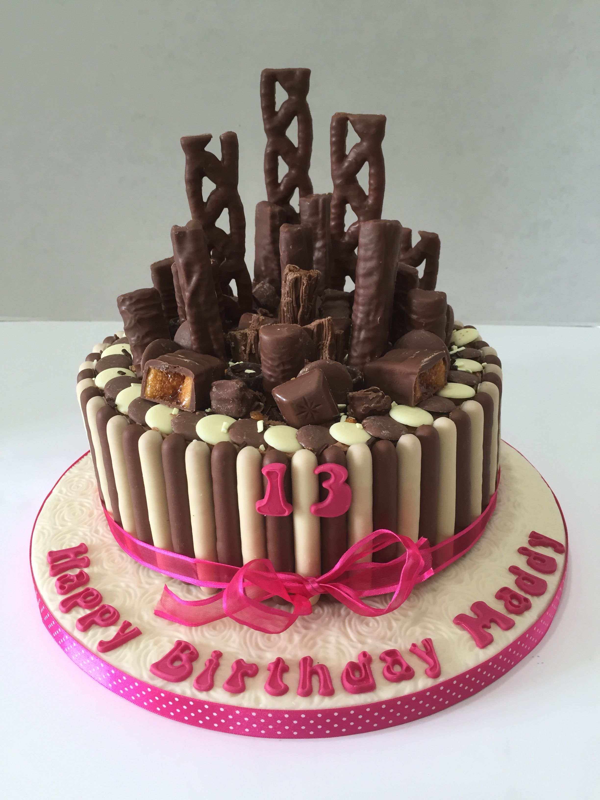 Chocolate Explosion Full Of Cadburys Cake June 2016 With Images