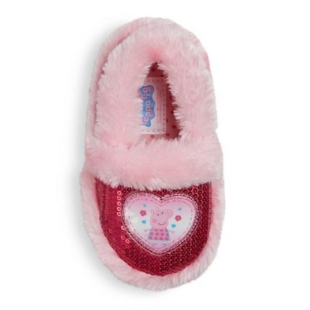 b6e80b322b1c Toddler Girls  Peppa Pig Loafer Slippers   Target