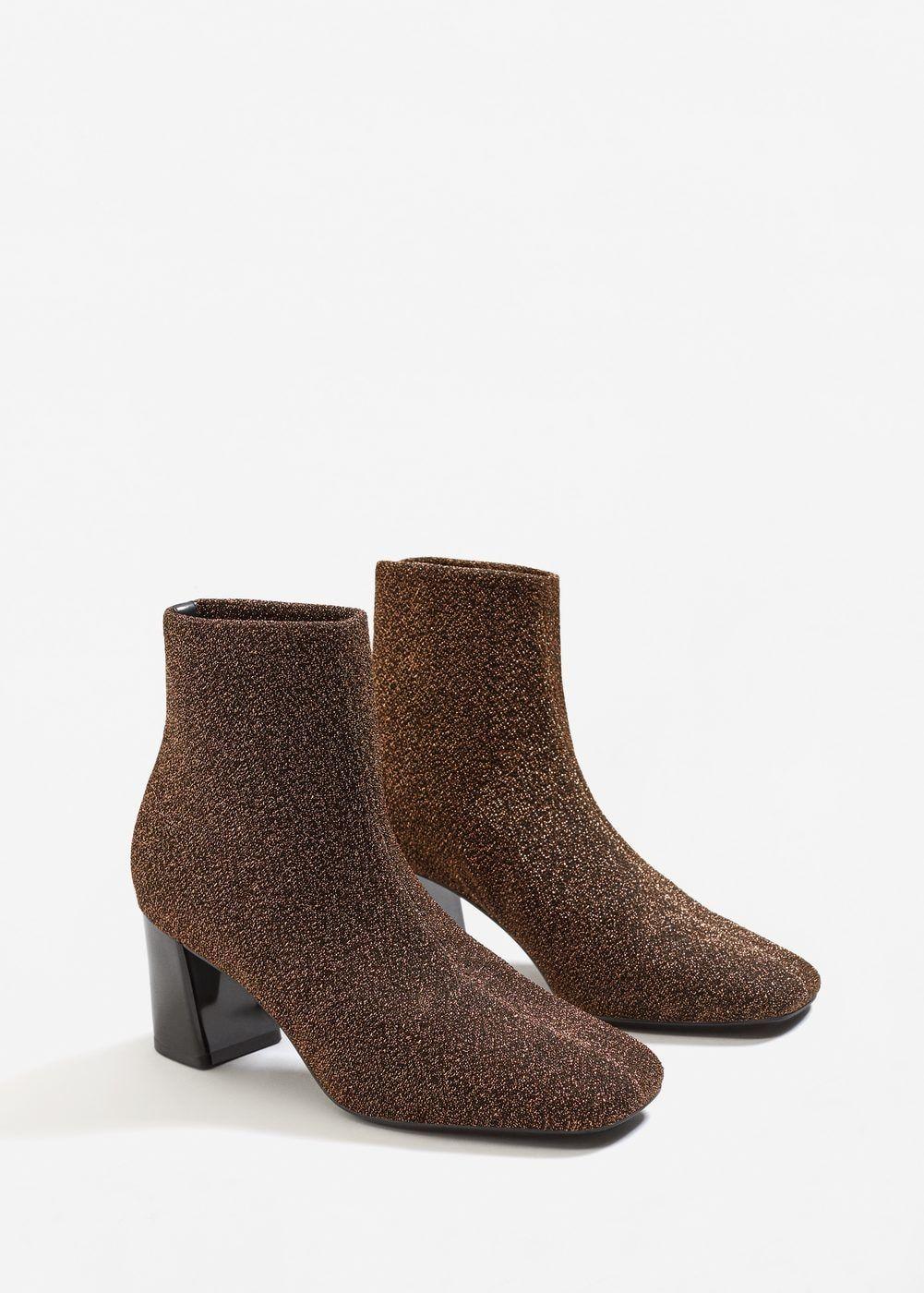 cede9bd5a4c4 Glitter sock boots - Women