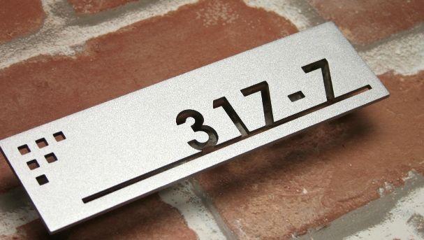 Engraved Natural Slate House Door Sign Name Number Plaque 40cm x 15cm