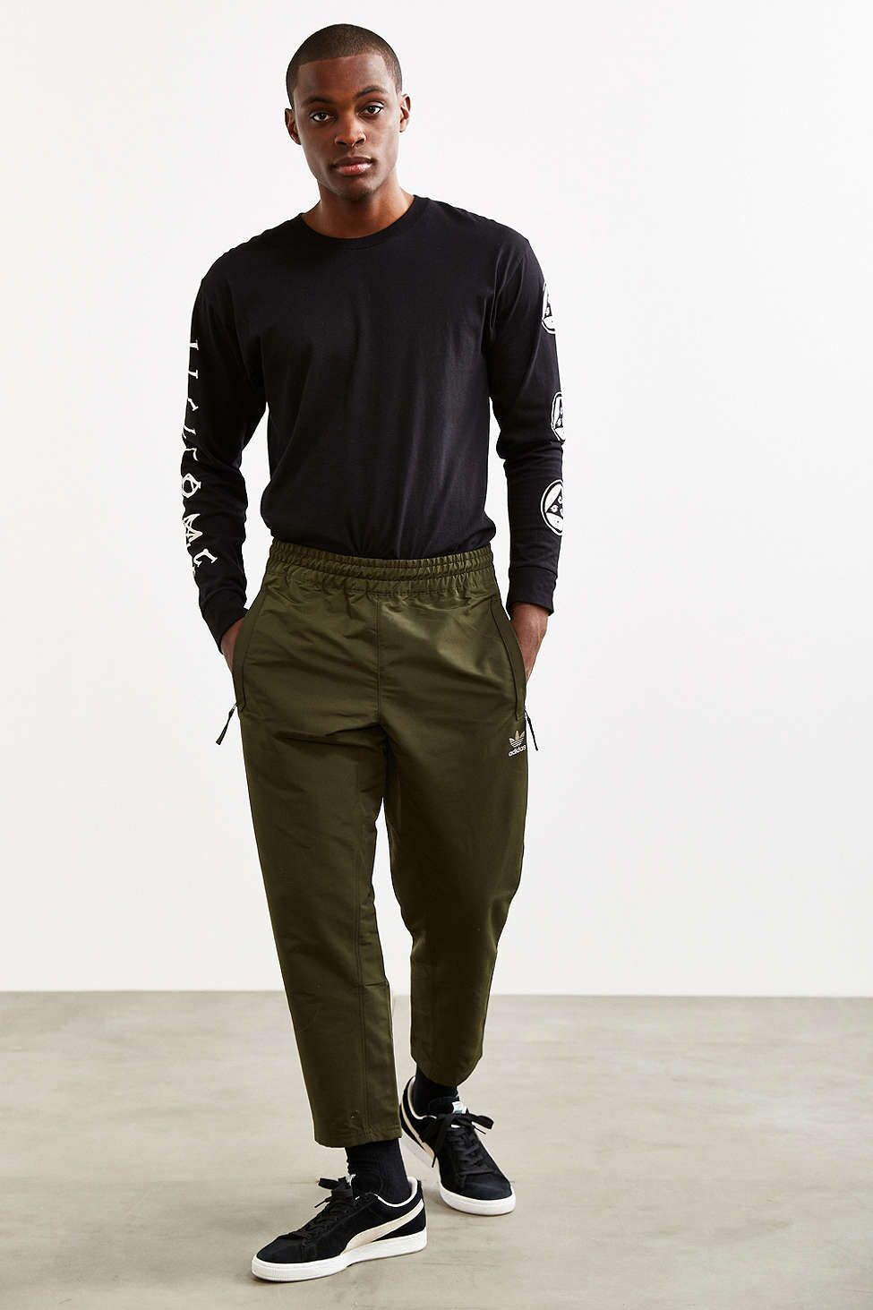 the best attitude 0ab94 3bc50 adidas Fallen Future Woven Track Pant - Urban Outfitters