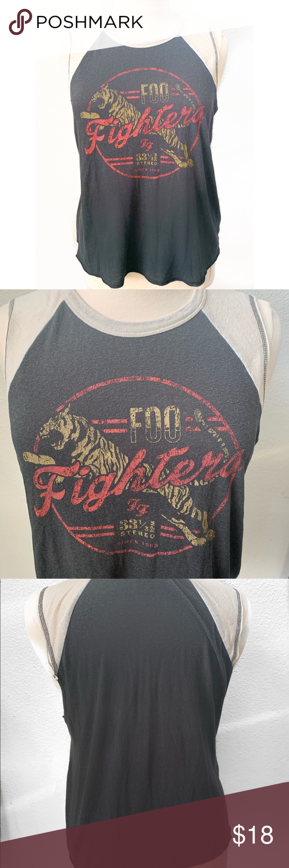 80c220aed7b Foo Fighters tank top plus size 1x Good used condition Lightweight ...