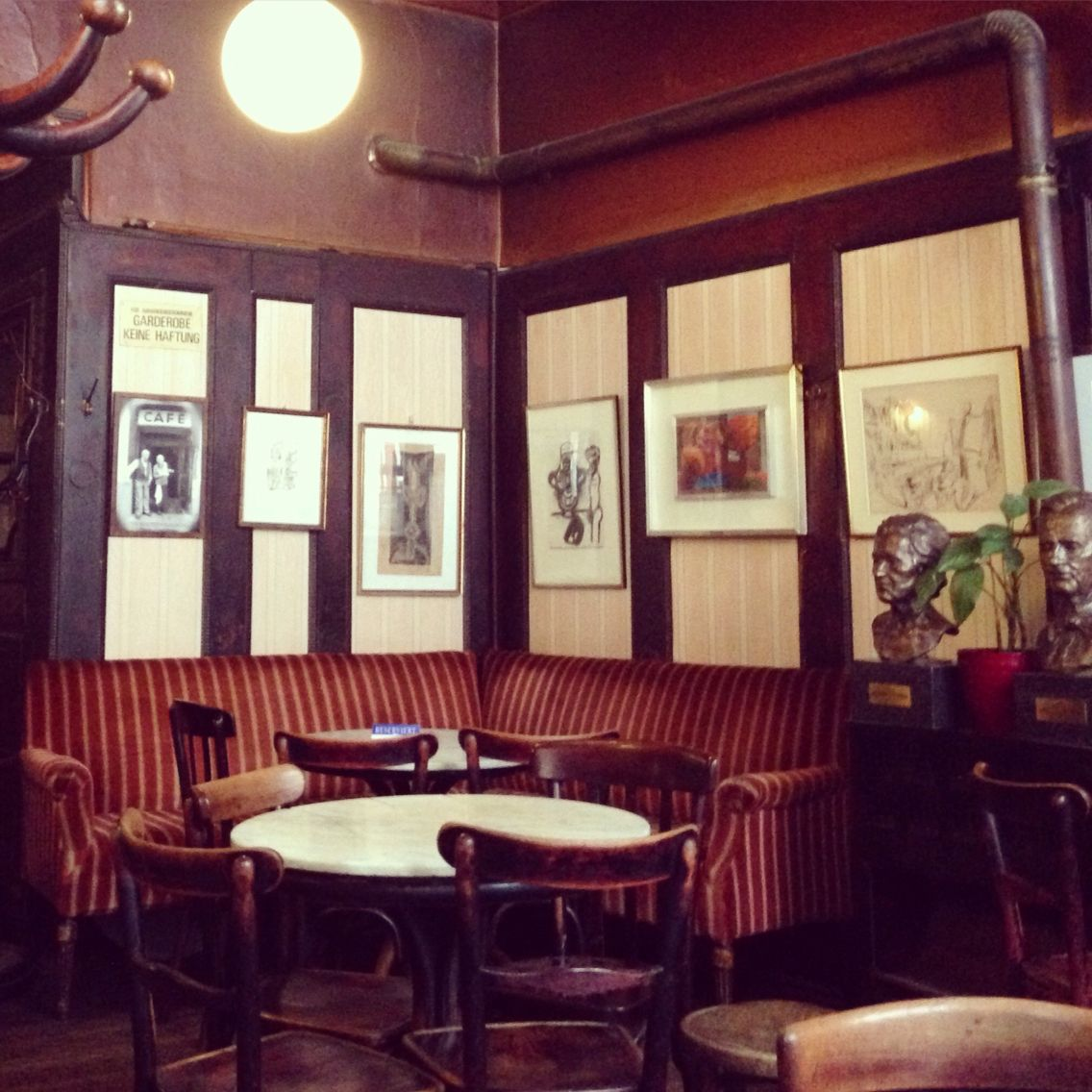 Love The Old Charm Of Vienna At Cafe Hawelka