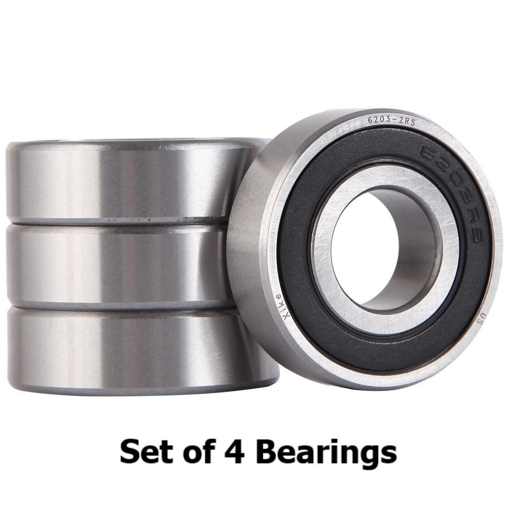 Details about Set of 4 New Mower Deck Bearings Replaces Troy