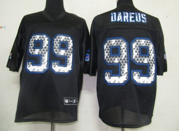 $25.00    NFL Jersey Buffalo Bills Marcell Dareus #99 Black United Sideline