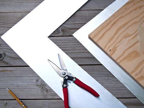 DIY Metal Table Top