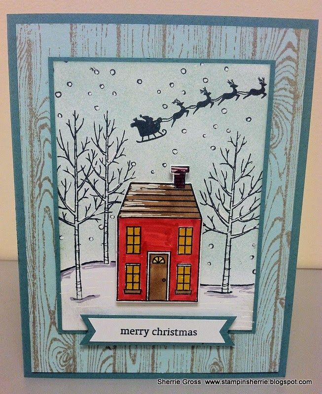 Stampin Sunshine: December Pals Blog Hop - Winter Wishes