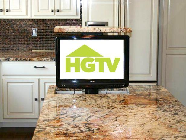 Tv Lift In Kitchen Clutter Free Kitchen Tv In Kitchen Cool Kitchens