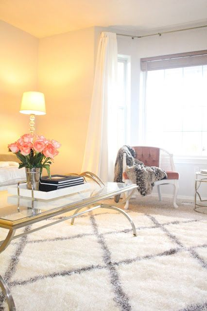 Etonnant My Decorated Life: Living Room Update Featuring Rugs USAu0027s Moroccan Diamond  ...
