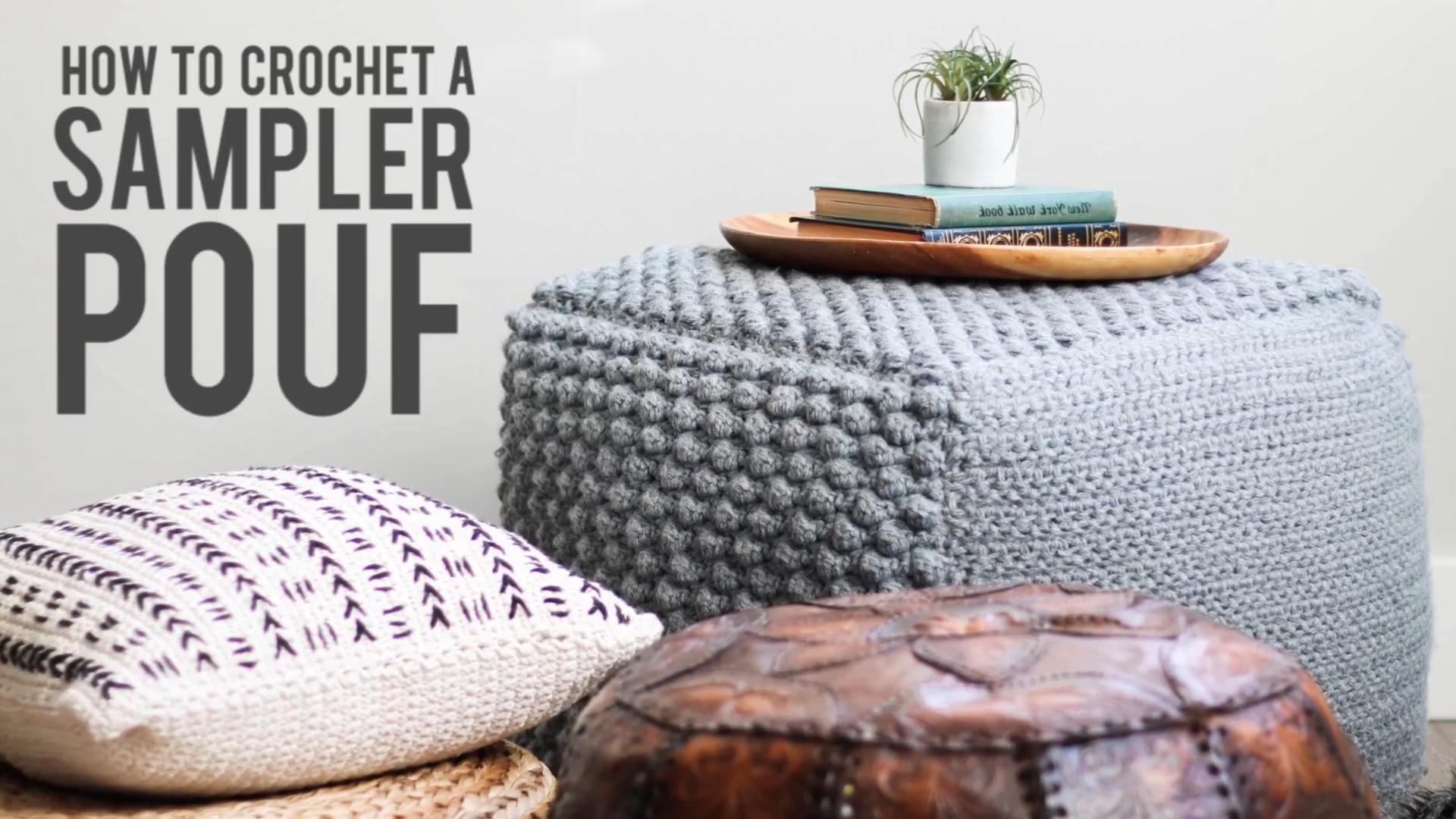 Photo of How To Crochet A Sampler Pouf – Free Crochet Bean Bag Pattern