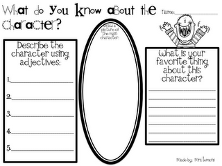 picture relating to Character Graphic Organizer Printable named Totally free Printable Looking through Impression Organizers (Google Docs