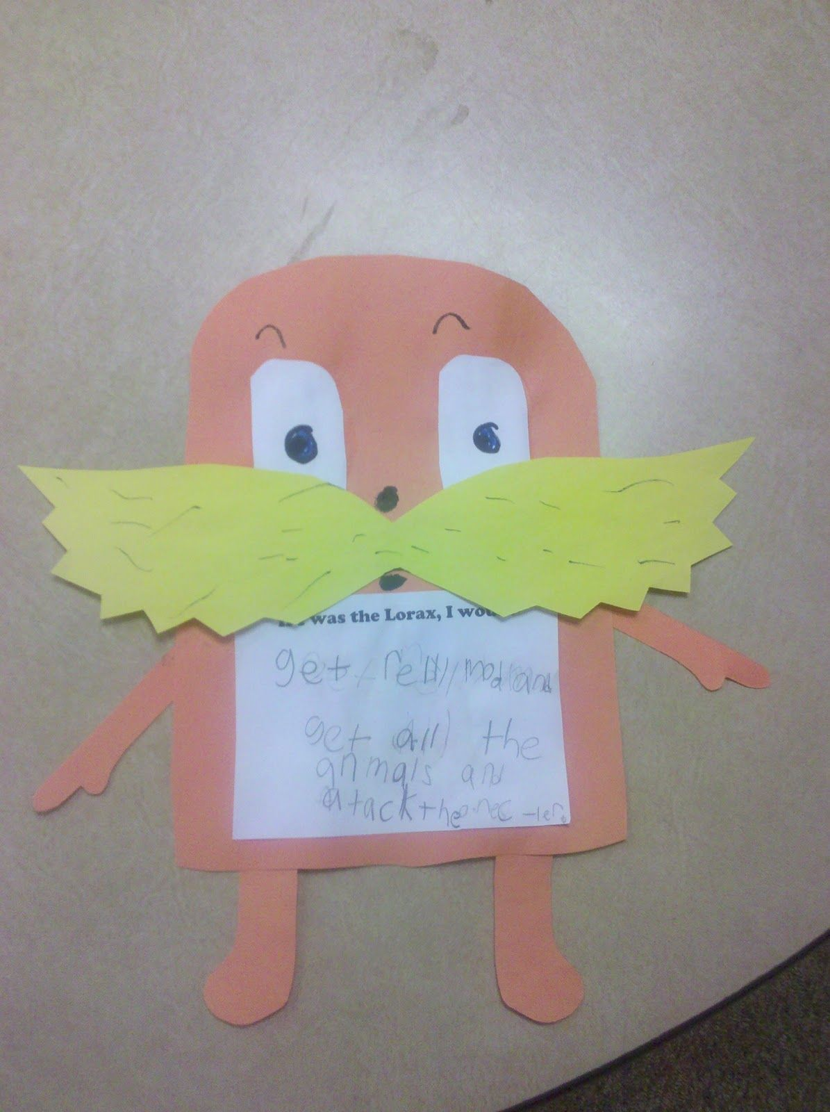 Spelling Supplement And The Lorax