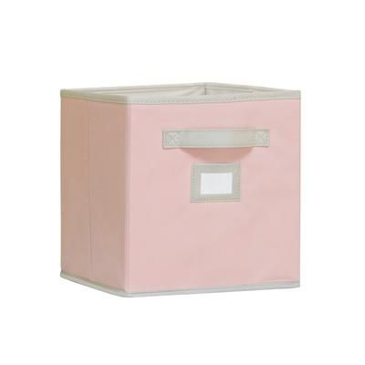 Msl Pink Fabric Drawer Eh Ncshd 028p Home Depot Canada