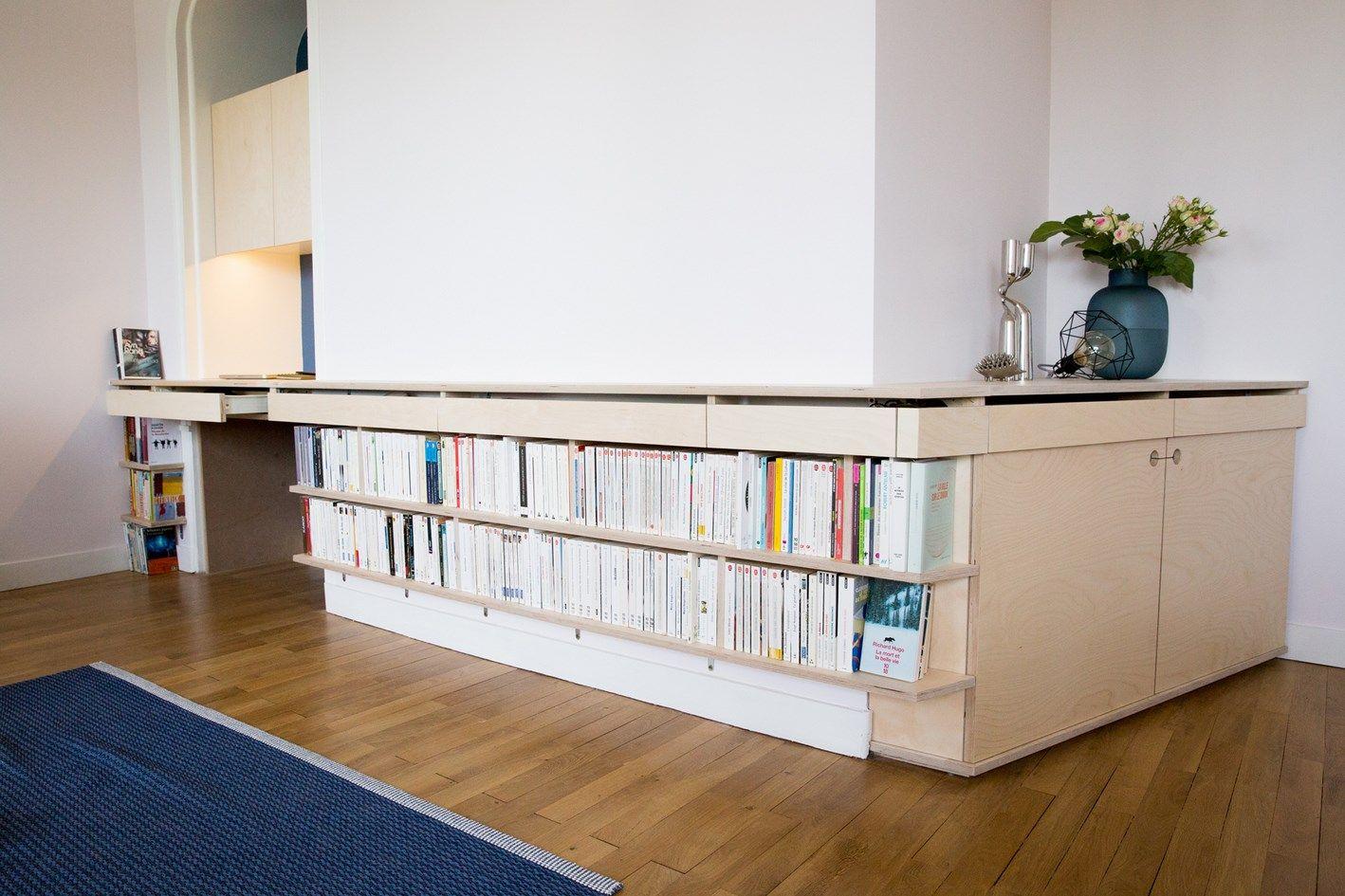 Meubles Tv Sur Mesure Et Hifi Nantes Vannes Lorient Paris Bibliotheque Sur Mesure Bibliotheque Design Decoration Maison
