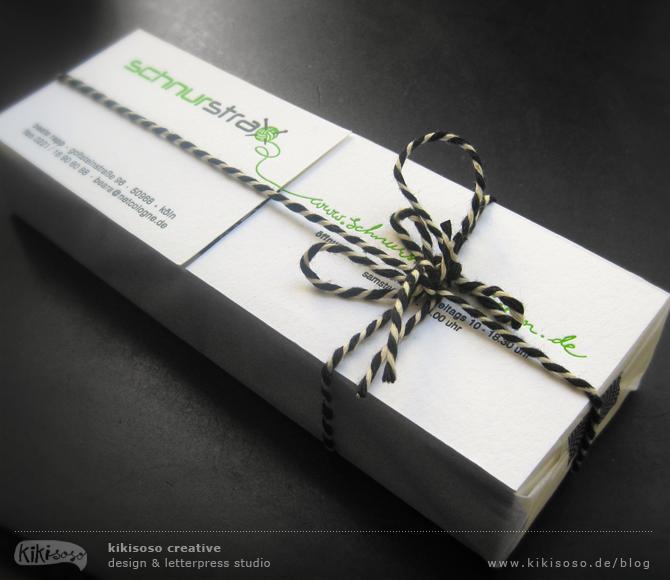 LetterpressVisitenkartenKoeln  Letterpress Business Card For