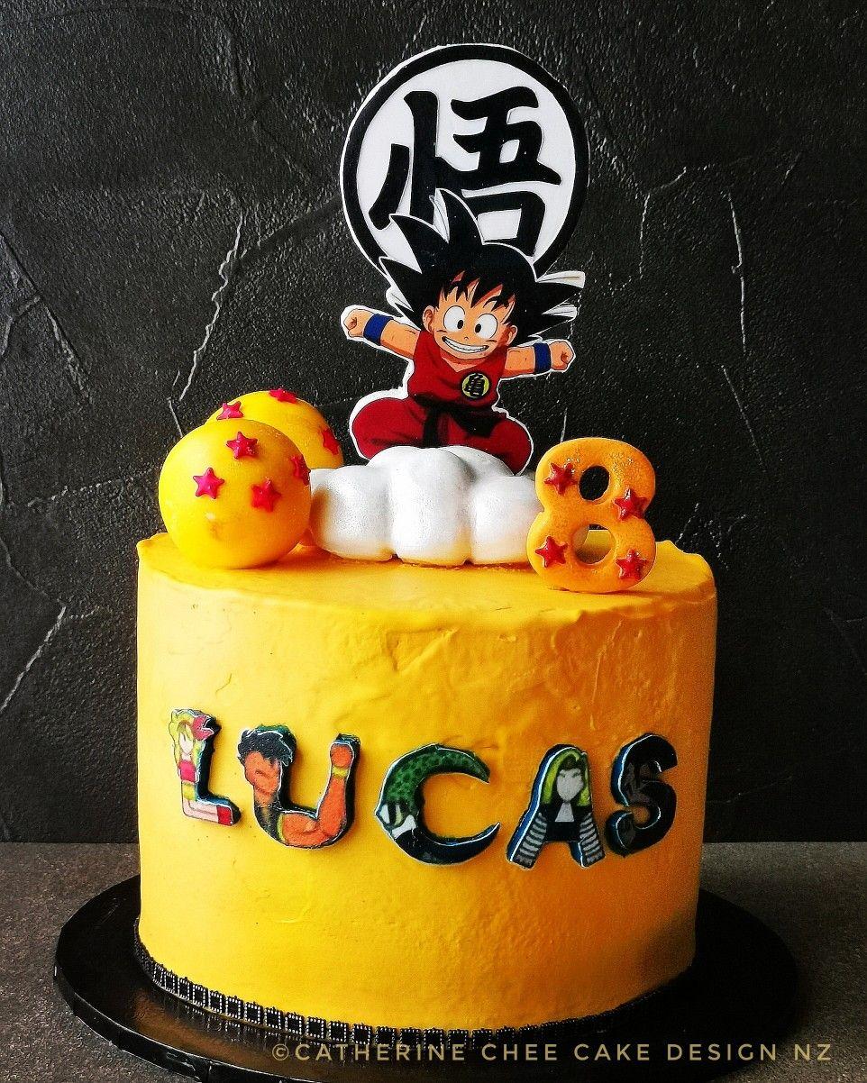 Dragon Ball Z Cake Design Cake Birthday Cake