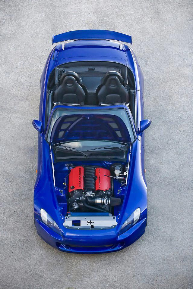 Honda S2000 With A Corvette Ls1 Engine Love It Honda