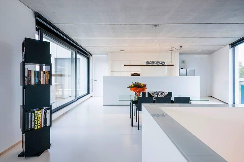 Bild zu Haus Minimalistische Häuser Pinterest - ideen offene kuche wohnzimmer