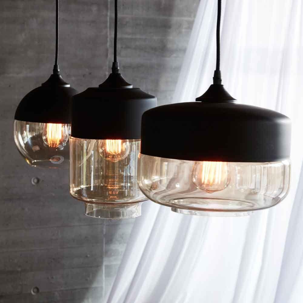Hubsch Interior Hangelampe Adele Glas Beleuchtung Decke Lampen Und Moderne Lampen