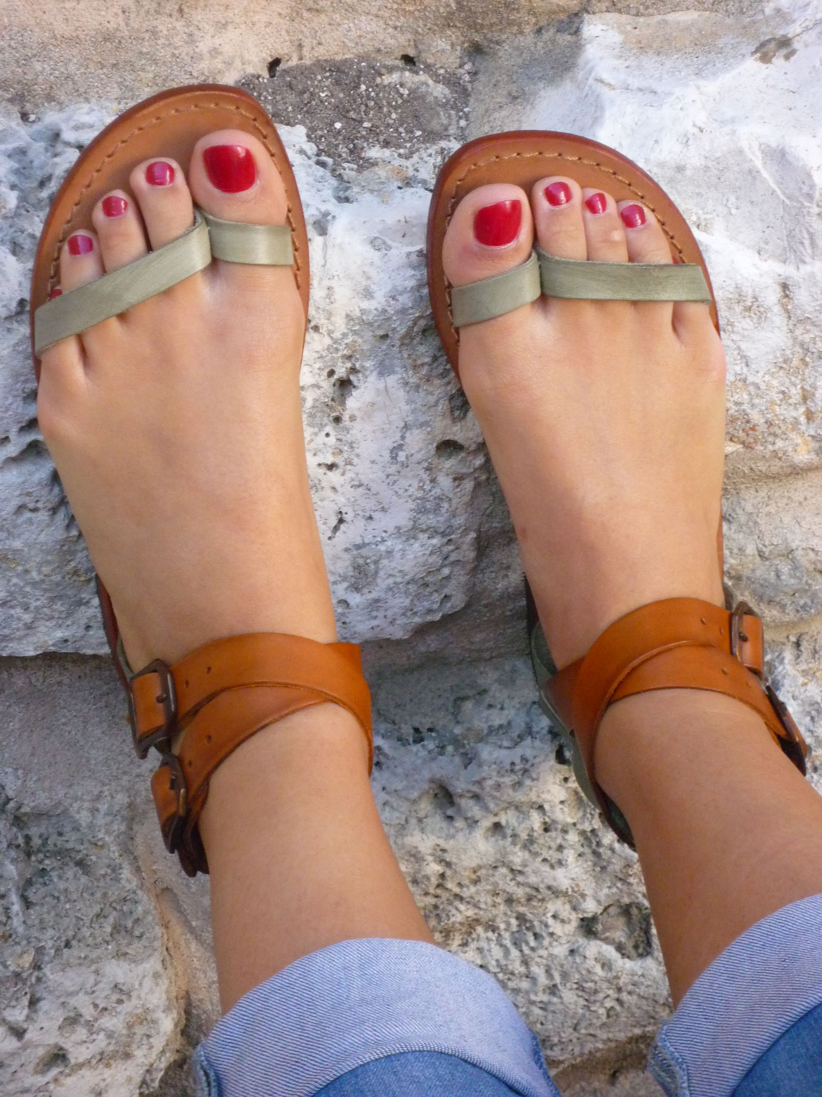 Shoes - Sandals - leather - handmade - Italian - Summer - Women's - www.sandalishop.it  :-)