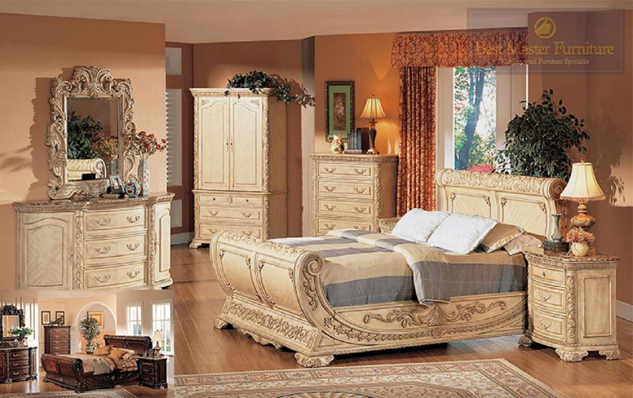 Beau Mfb1603   Clairemont Antique White Wash Bedroom Group With Marble Tops |  Bedrooms, Quality Furniture And Marble Top