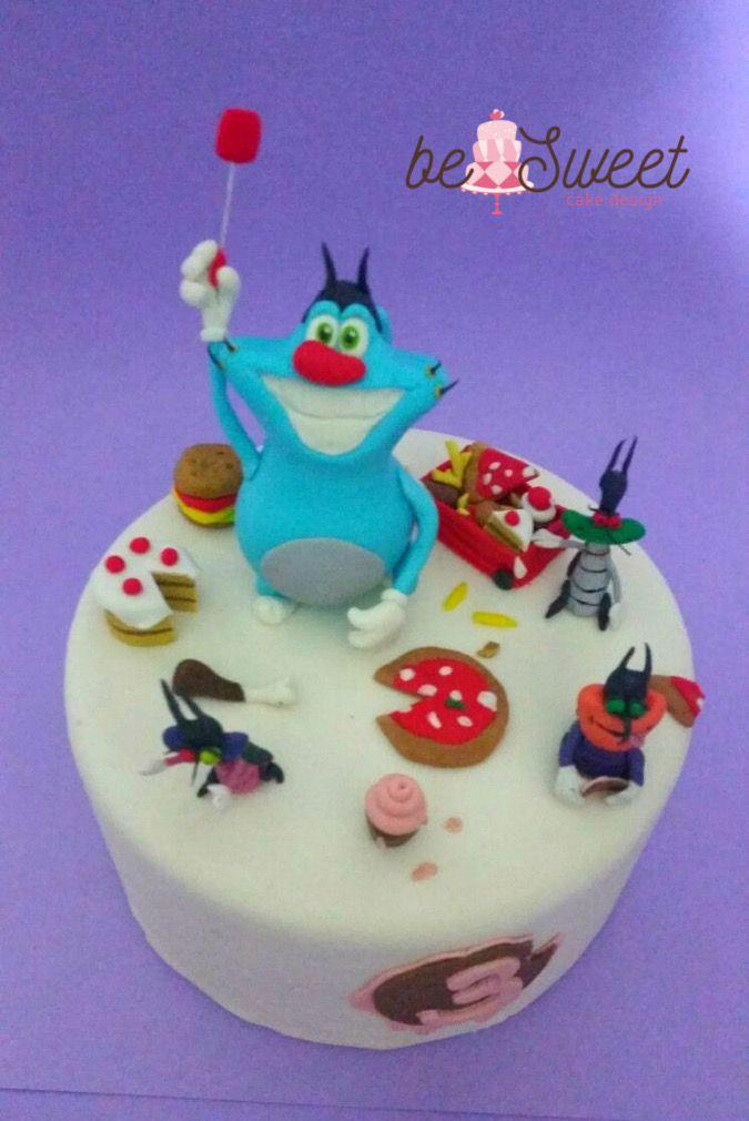 Conosciuto Oggy e i maledetti scarafaggi | torte compleanno | Pinterest | Gâteau SZ09
