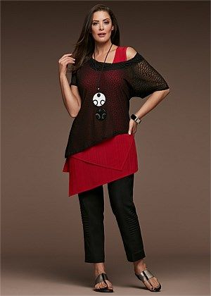 GAME CHANGER TOP Plus size womens clothing, Plus size
