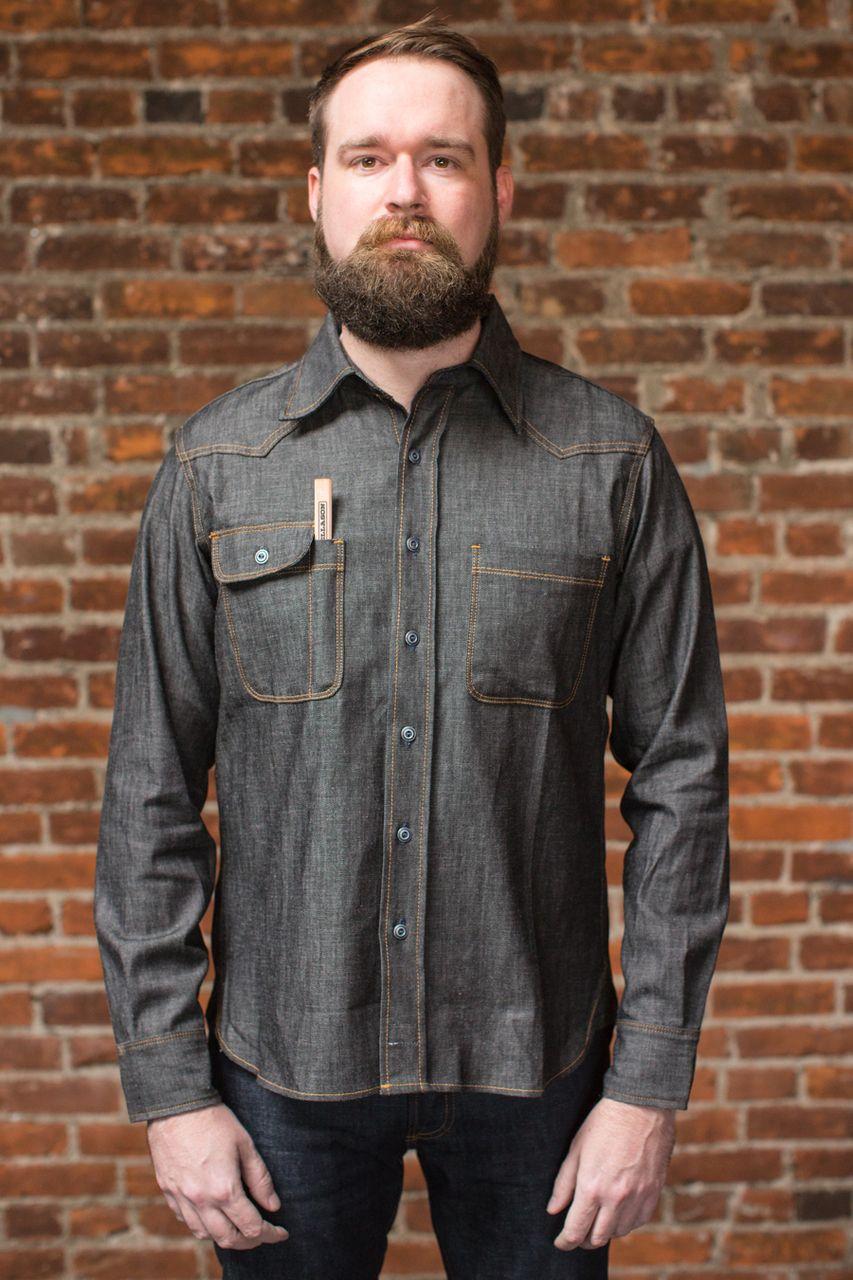 8cc4459770 Tellason - Topper - Selvedge Denim Shirt - 7.5 oz.