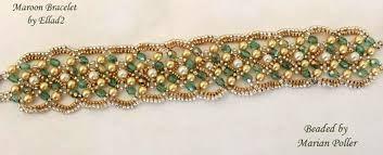 Image result for beaded bracelet tutorial