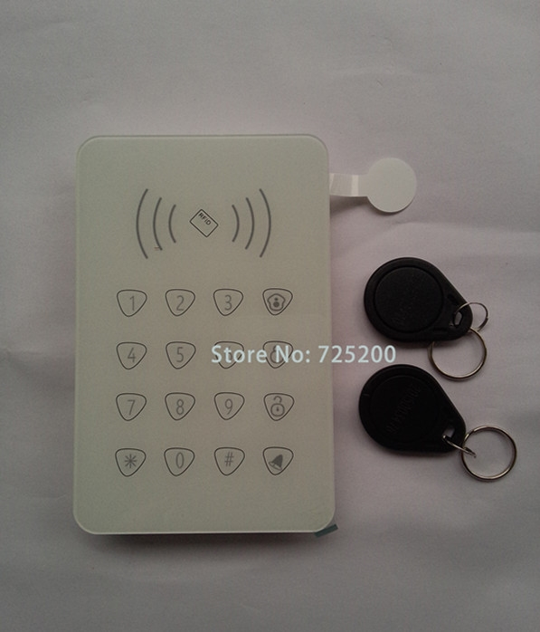 28.96$  Watch now - http://alihvz.shopchina.info/go.php?t=32602952224 - 433MHz Wireless Password Keypad Touchscreen with Doorbell and RFID Card Swipe For G90E G90B wifi gsm alarme systems  #magazine